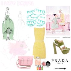 Pastel :) by cloduhenois on Polyvore