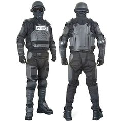 $415.35 Hard Shell Full Body Crowd Control System | Cool People Shop