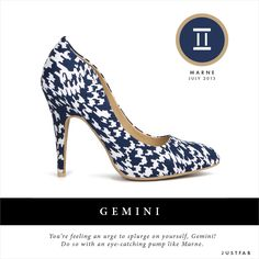 Gemini, check out your July style-scope. Fashion horoscope by JustFab.
