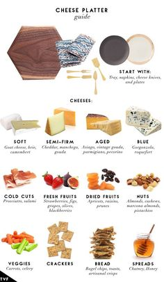 How to make a charcuterie board, cheese board ideas, hosting appetizers, at home happy hour Cheese Platter Board, Charcuterie And Cheese Board, Cheese Boards, Cheese Trays, Cheese Platter How To Make A, Charcuterie Platter, Meat Platter, Antipasto Platter, Cheese Board Display