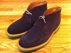 mark mcnairy navy 'Percy' desert boot... I wish they made these in womens' sizes...