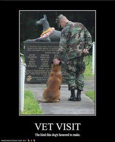 Vet Visit..... The Always Faithful Memorial
