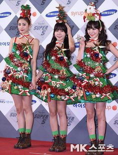 Orange Caramel Christmas Outfits