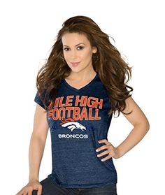 Touch by Alyssa Milano Denver Broncos Women s Navy Super Bowl 50 Champions  Alumni V-Neck T-Shirt 511f1a817