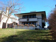 Органическая архитектура: Фрэнк Ллойд Райт (Frank Lloyd Wright): Rev. Jessie R. Zeigler House, Frankfort, Kentucky (Дом преподобного Дж.Р. Циглера, Франкфорт, Кентукки), 1909