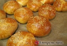 Βήμα 11 Bread Art, Cheese Pies, Pastry Art, Bread And Pastries, Greek Recipes, No Bake Cake, Food And Drink, Appetizers, Cooking Recipes
