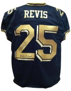 2ba187f8c Darrelle Revis Autographed Pittsburgh Panthers Jersey with Revis Island  Inscription - Sports Memorabilia