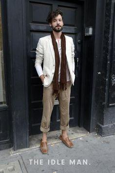 Men's Street Style - Cool Neutrals