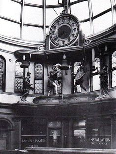 This clock that stood above the old market offices in the Bull Ring until it was bombed on the August It was affectionately known as Percy's clock. Birmingham Bull Ring, Birmingham City Centre, Birmingham University, 19th Century England, Birmingham England, Walsall, West Midlands, Slums, Historical Architecture
