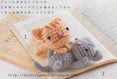 Cats crochet pattern
