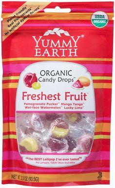 Yummy Earth Organic Candy Drops Freshest Fruit 3.3 oz (93.5 g)