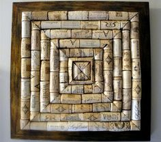 trivet-hafta make one of these soon. :)  my wine cork supply is over-flowing lol