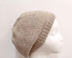 Knitted beanie wool handmade mens hats womens hats by CaboDesigns, $26.00