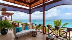 Zemi Beach, Shoal Bay, Anguilla | Luxury Caribbean Penthouse Terrace