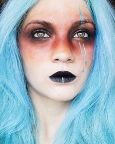 Tribal inspired festival makeup