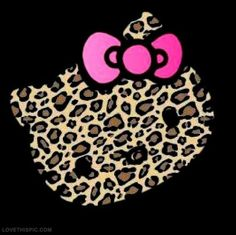 Omfg It A Freaking Leopard Printo Kitty How Awesome Is That
