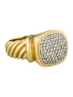 David Yurman 1.1ctw Diamond Noblesse Ring