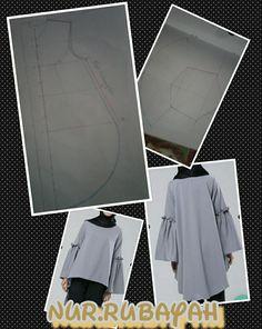 Membuat Pola baju