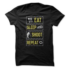 Eat Sleep Shoot ᐃ RepeatAre you a photographer with a keen sense of humor? Then, this is for you. **Not Available in Stores **photography, photographer