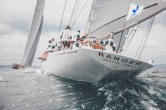 Ranger, J-class Falmouth Andrew Wright Super Yacht Photography
