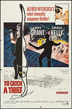 To Catch A Thief, Paramount Pictures, Film Posters, The 100, Film Poster, Movie Posters