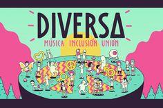 APOYA: DIVERSA FESTIVAL Música+Inclusión+Unión /Por #HYPE #HYPEméxico   El primer Festival Diversa será el evento lanzamiento de un movimiento en pro de la salud sexual llevando su mensaje a través de la música, en un lugar espectacular envuelto en un ambiente diverso …