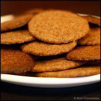 Biscuits Ovomaltine ~ Black-chocolatines
