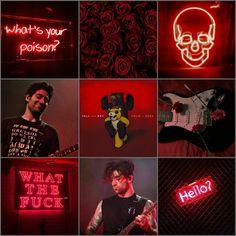 Joe Trohman red moodboard (my edit)