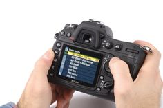 The right way to set up your camera | Digital Camera World
