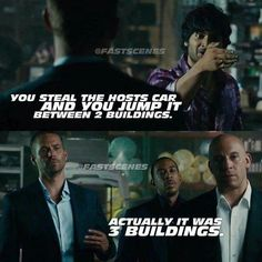 Ladies and gentlemen. Fast of Furious XD Furious Movie, The Furious, Michelle Rodriguez, Vin Diesel, Movies Showing, Movies And Tv Shows, Gal Gadot, Fast And Furious Memes, Last Action Hero