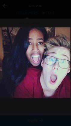 Fun interracial couple #love #wmbw #bwwm