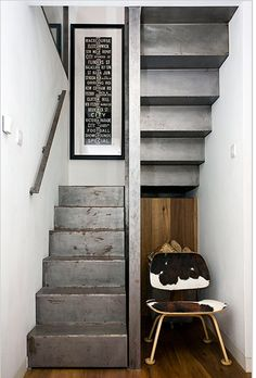 inspiration for miniatures  [STAIRS / via casatreschic.blogspot.com.es]