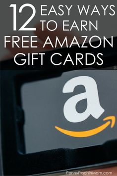 Saving Money Trick!  Earn free Amazon Gift Card!  Help you with your budget and saving money all year long