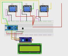 #arduino #thermostat #guess in #fritzing #untested
