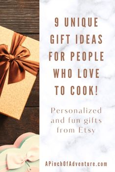 Need Christmas gift ideas for someone who loves cooking? Here is an amazing gift guide of unique Etsy gifts for any budget for the chef in your life. These are great gift suggestions for newlyweds or anyone who loves food and cooking. From funny gifts to meaningful personalized gifts, this is a great gift guide for cooks who already have everything. Gifts For Chefs, Food Gifts, Diy Gifts, Unique Gifts, Best Gifts, Gift Suggestions, Gift Ideas, Kitchen Updates, Meaningful Gifts