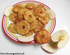 Beignets aux pommes (sans oeuf, sans lait)