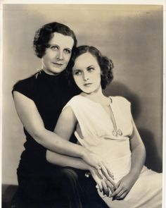 Alta Alta Mae Goddard and daughter Paulette - From the archives of the Roy Export Company Establishment