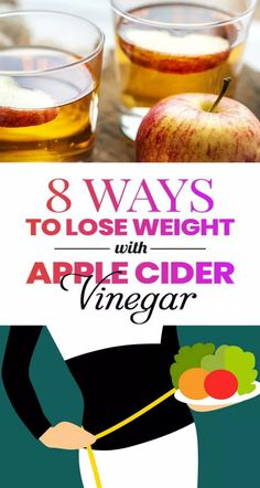 8 Ways to Lose Weight with Apple Cider Vinegar- [Burn Unwanted Fat] Diet Plans To Lose Weight, Losing Weight Tips, How To Lose Weight Fast, How To Loose Fat, Taking Apple Cider Vinegar, Improve Metabolism, Detoxify Your Body, Reduce Body Fat, Vegan