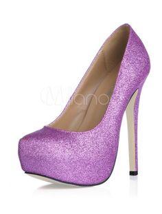 Gorgeous Platform Stiletto PU Womens Shoes - Milanoo.com