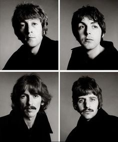 The Beatles by Richard Avedon.