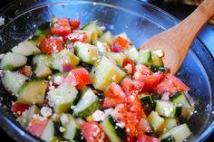Greek Salad & dressing recipe