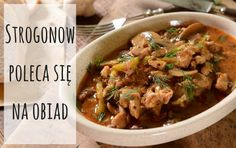 This rich and creamy beef dish is the perfect kind of easy gourmet that turns inexpensive ingredients into delicious meals with hardly any effort. One Pot Meals, Easy Meals, Turkey Stroganoff, Crockpot Recipes, Healthy Recipes, Diabetic Recipes, Easy Recipes, Healthy Food, Cooking Instructions