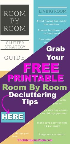 Feeling overwhelmed by clutter? WOW - these decluttering tips & tricks are the best I've seen to have a clutter free home just in time for spring cleaning. Enter your email & grab this declutter printable checklist for the inspiration & ideas you need for a clean & organized home.#declutter #clutter #springcleaning #printable #organizeyourlife #clutterfreehome #springcleaningtips #tipstodeclutteryourhome #homedecluttering