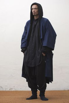 Cape looking clothing.