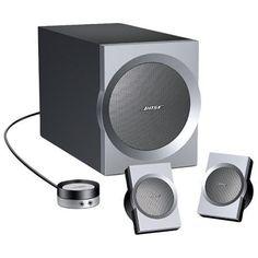 Bose Companion 3 Multimedia Speaker System - Graphite / Silver Bose http://www.amazon.com/dp/B00011CNWG/ref=cm_sw_r_pi_dp_VUCCwb07Z4RT3
