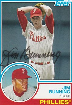 Jim Bunning  9× All-Star (1957, 1959, 1961–1964, 1966) AL wins champion (1957) 3× Strikeout champion (1959, 1960, 1967) Pitched a perfect game on June 21, 1964 Pitched a no-hitter on July 20, 1958 Philadelphia Phillies #14 retired Member of the National Baseball Hall of Fame  JK NOTE:  The kids in Swoon '64 would have had these facts on the tip of their tongues.