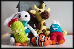 Love crocheted amigurumis