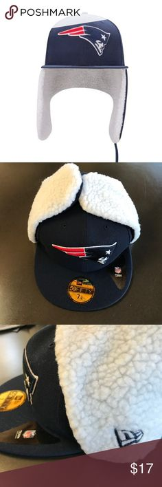 New England Patriots Flurry Fit Dog Ear Fitted Hat. New Era LogoNew England  PatriotsGraphicsEarsNflFitnessColorsGraphic DesignEar 07356d028