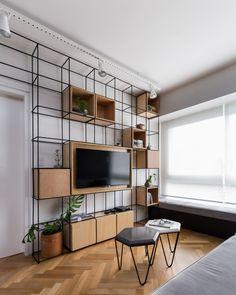Modern Home Decoration .Modern Home Decoration Shelf Furniture, Iron Furniture, Furniture Design, Interior House Colors, Home Interior Design, Interior Livingroom, Interior Plants, Boutique Interior, Luxury Homes Interior