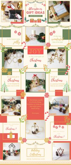 Christmas Gift Ideas 2018 by Luxeova Atelier. Instagram Collage, Instagram Grid, Instagram Design, Instagram Feed Theme Layout, Grid Design, Layout Design, Design Ideas, Graphic Design, Simple Poster